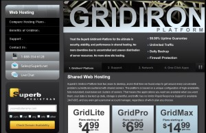 Superb GridIron Shared Hosting
